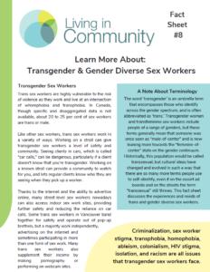 Fact Sheet #8 Cover