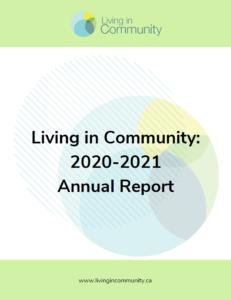 Annual Report 2020-2021 Cover